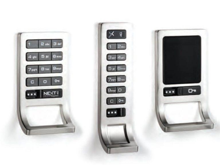 Cerraduras RFID para código de gabinete