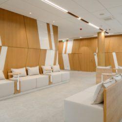 Muebles de clínica médica para sala de espera